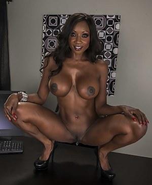 Free Big Black Tits Porn Pictures